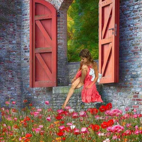 MERIT 1 Ellie Schartner - The Secret Garden