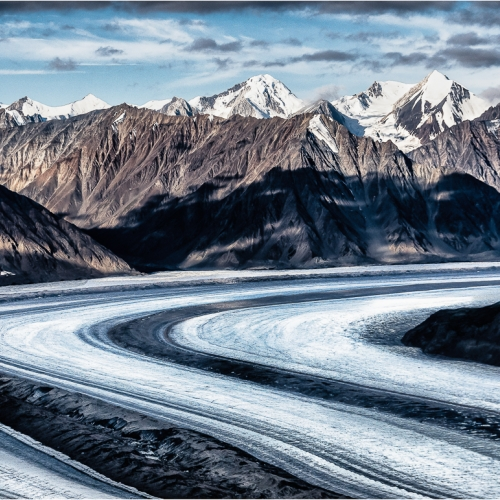1st Merit - Yukon Territory - Bill Locke - Over Kaskawulsh Glacier