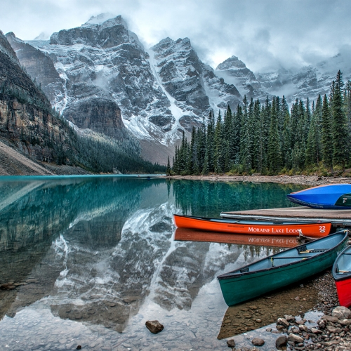 2nd Merit - Alberta - Jason Duncan - Last Day Of Summer At Moraine Lake