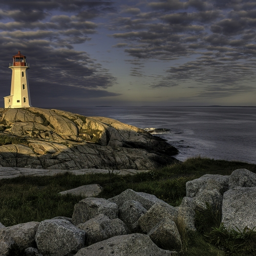 2nd Merit - Nova Scotia - Evelyn Young - Early Morning Peggy S Cove NS