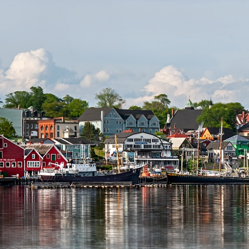 2nd Merit - Nova Scotia - Viki Gaul - UNESCO Heritage Site Lunenburg