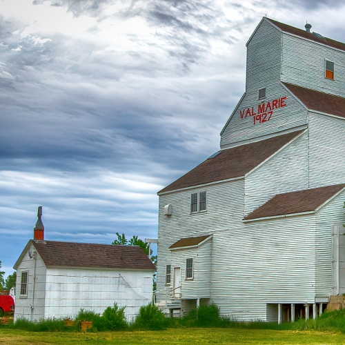 2nd Merit - Saskatchewan - Bruce Carmody - Restored Grain Elevator