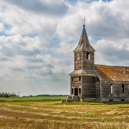 2nd Merit - Saskatchewan - Heather Loewenhardt - Little Church On The Prairie