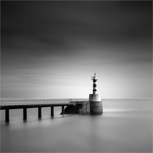 3rd Merit - Landscape - Peter Coombes - Amble Harbour Light