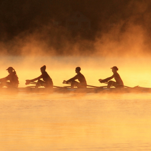 3rd Merit - New Brunswick - Janet Crawford - Early Morning Row