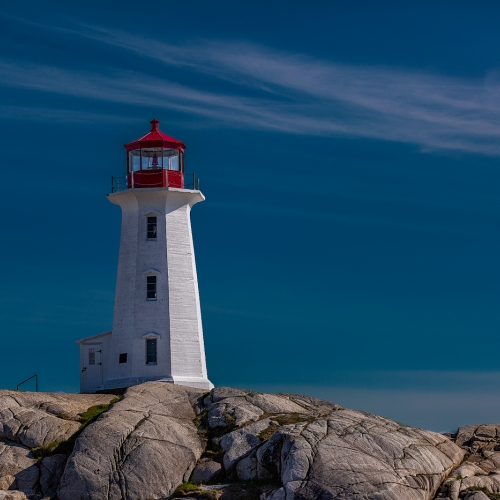 3rd Merit - Nova Scotia - Ying Shi - Peggys Cove Lighthouse