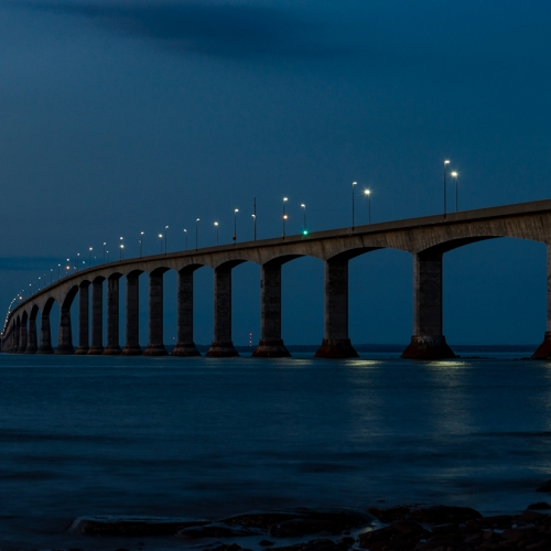 3rd Merit - Prince Edward Island - Isabelle Levesque - Confederation Bridge At Dusk