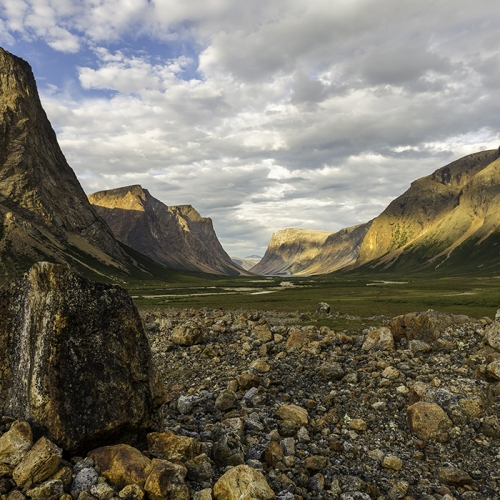 BRONZE Michael Winsor - Saglek Fjord, Torngat Mountains