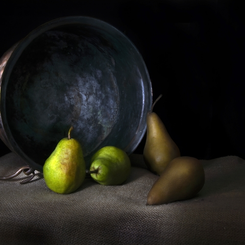 Gold Medal - Evelyn Young - Still Life With Pears