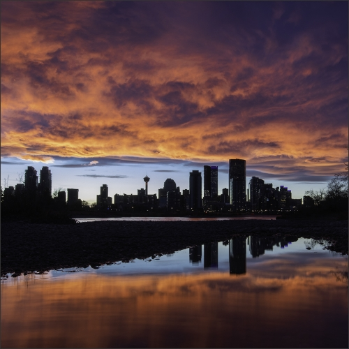 Gold Medal - Peter Coombes - Downtown Sunset