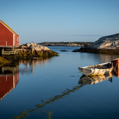 Gold Medal - RHCC - Jill Lam - Morning In Peggys Cove
