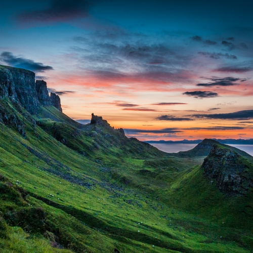 HM 5TH Mark Girard - Isle Of Skye Sunrise
