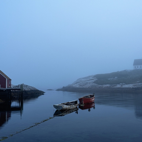 Honour Award Andre Lirette Peggys Cove At Crack Of Dawn