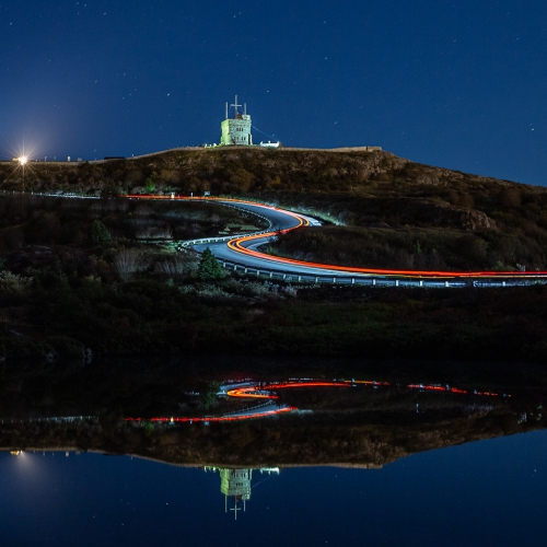 Honour Award - Cindy Marshall - Signal Hill Reflection