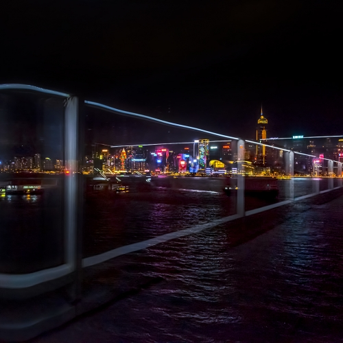 Honour Award The Chinese Canadian Photographic Society Of Toronto Peter Lau 1 Nocturnal View Of Hong Kong Victoria Harbour