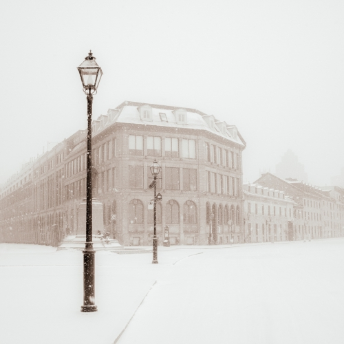 Honour - LCC - Carmin Cristofaro - Winter Morning In Old Montreal