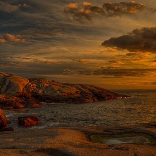 Honour Award - Our Country - Canadian Association For Photographic Art - 'Peggy's Cove' by Dave Van De Laar