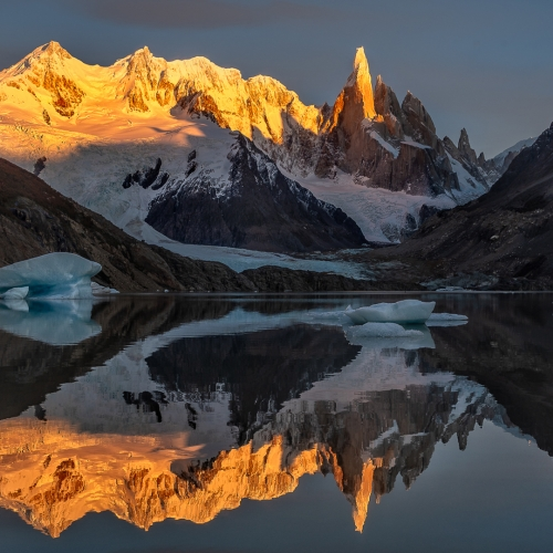 Nature - Honourable Mention - Katherine Wong's image 'Dawn At Cerro Torre'