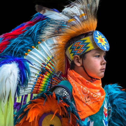 Silver Medal Bertin Francoeur Radiant Young POW WOW Performer