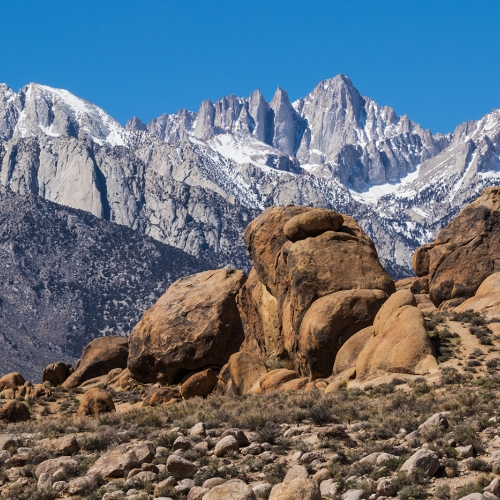 Silver Medal - Laszlo Podor - Alabama Hills With Mt Whitney
