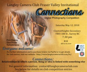 Langley Camera Club Fraser alley Invitational Photography Competition
