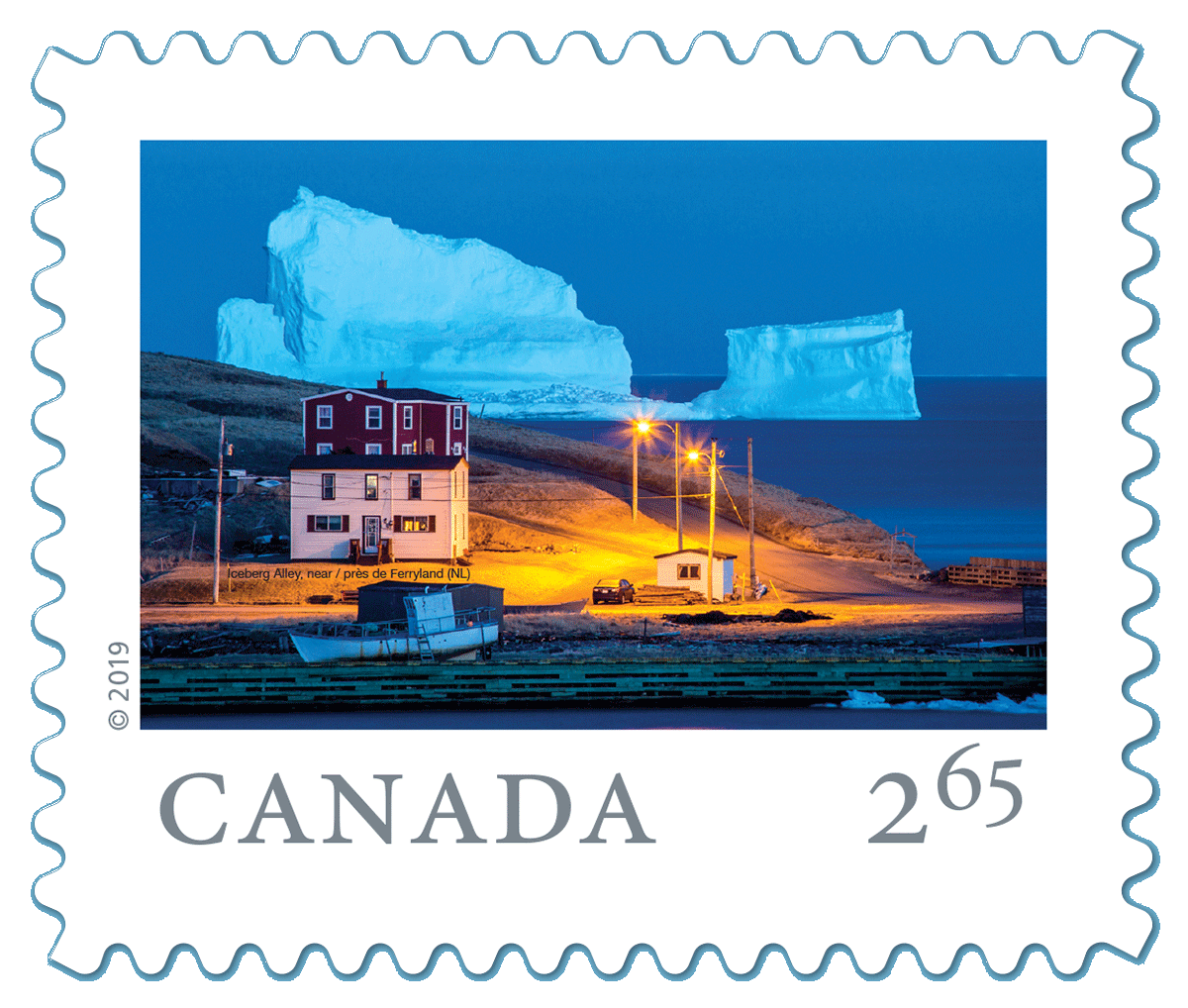 Canadian Stamp by Michael Winsor
