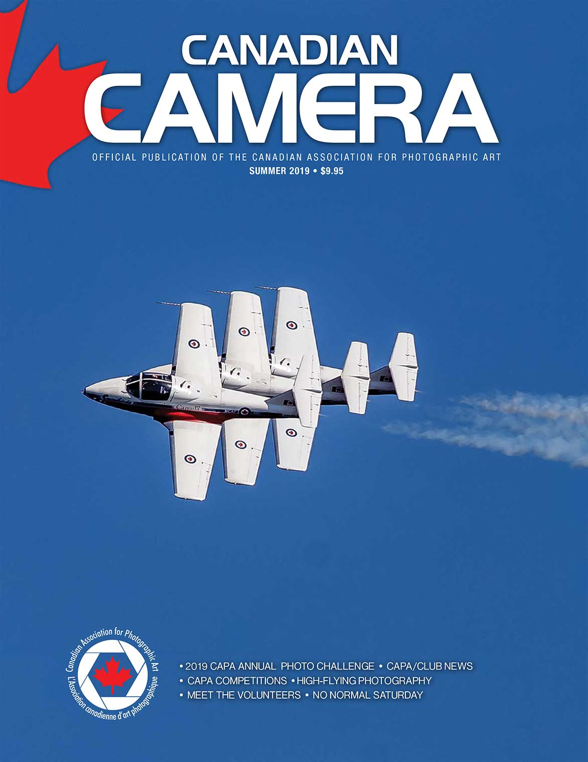 Canadian Camera Magazine cover