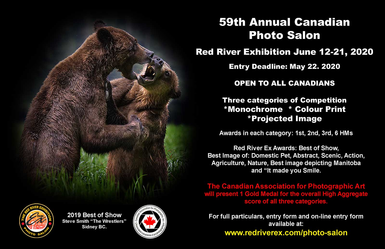 Red River Ex Photograph Salon 2020